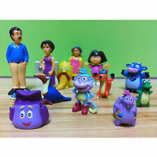 Dora The Explorer Figure Set Toy Playset/Cake Topper Figurines of 12 pcs
