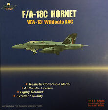 Witty Wings 1:144 Scale F/A-18C Hornet WFA-131 Wildcats CAG Diecast Plane