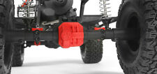 AXIAL AR44 Differential Cover and Link Mounts (Red) for SCX10 2 II axles AX31384