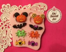 Halloween III Mickey Mouse silicone mold fondant cake decorating wax soap FDA