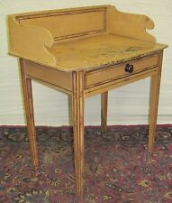 EARLY 19TH CENTURY HEPPLEWHITE RARE BAMBOO PAINTED WASH STAND