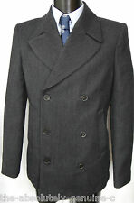 AQUASCUTUM Short Pea Coat Jacket WOOL BNWT SZ UK 38