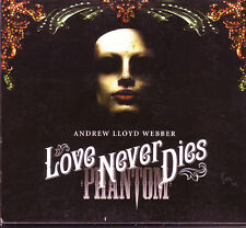 Phantom Love Never Dies 2-CD + DVD Andrew Lloyd Webber (2009)