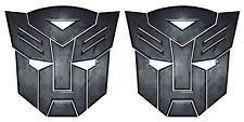 autobot transformer x2 stickers 100mm high landrover 4x4 car bike motorhome