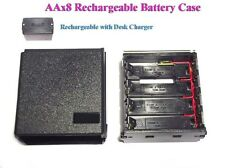AAx8 Rechargeable Battery Case Icom IC-2E 02E 4E 2GE 32ET A2 M5 M12 HTX-202