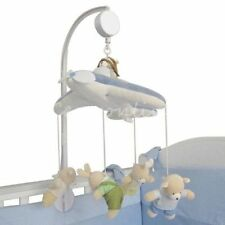 Many Songs Baby Crib Mobile Bed Bell Holder Bracket Kid Toy + Wind-up Music Box