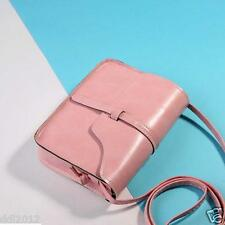 Women Vintage Leather Cross Body Messenger Satchel Handbag Shoulder Bag Purse