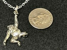 "Monkey Swinging Charm Tibetan Silver 18"" Necklace Mix A"