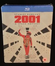 Stanley Kubrick 2001 A SPACE ODYSSEY Zavvi UK Exclusive Blu-Ray SteelBook. Rare!