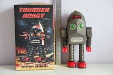 THUNDER ROBOT ROBBY ROBOT TIN TOY WIND UP NOMURA ALPS YOSHIYA HORIKAWA TAKATOKU