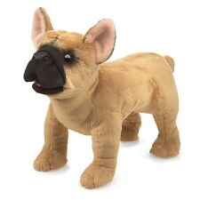 French Bulldog Puppet w/ Moveable Mouth, Folkmanis MPN 3066, Boys & Girls