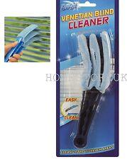 VENETIAN BLIND CLEANER VERTICAL DUSTER 3 PRONGS BRUSH SLAT CLEANING TOOL DZT1071
