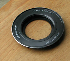 genuine later  Voigtlander VSL 35mm SLR m42 adapter german made  SL35E