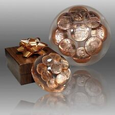 Lincoln Cent Collectible Paperweight - Beautiful, gleaming copper!