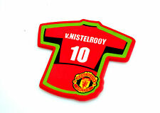 Manchester United Football Club T-Shirt V.Nistelrooy Coaster Crest Mug Cup Drink