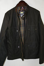 Barbour 'Chico Wax' Jacket Size L RETAIL $425 Olive Color