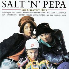 SALT 'N' PEPA : THE GREATEST HITS / CD (FFRR RECORDS 1991)