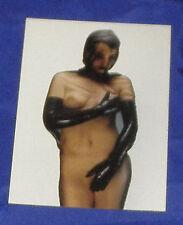 ERIC KROLL Postkarte EROTIK Foto Nylon Fetisch Lack BDSM Religion SUSAN McNAMARA