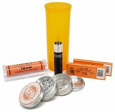 Bundle - 6 Items - Zig Zag 1 1/4 Rolling Paper, Roller, Grinder and More