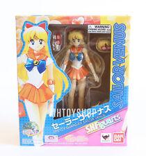 S.H. Figuarts Sailor Venus Sailor Moon Bandai Action Figure US Seller New