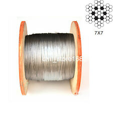"1/16""100% Marine Grade 316Stainless Steel Cable Wire Rope (50feet)"