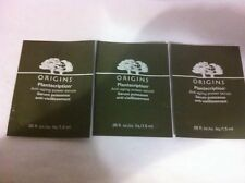 3 x ORIGINS - Plantscription - Anti-aging serum - 1.5ml samples