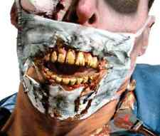 Zombie Doctor Fabric Mask Mouth Teeth Fancy Dress Halloween Costume Accessory