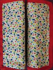Lightly padded, Multi Coloured, Hearts. Car Seat Belt Cover Pads. X2