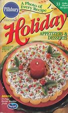 HOLIDAY APPETIZERS & DESSERTS PILLSBURY COOKBOOK DECEMBER 1998 #214 DESSERT MORE