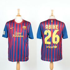 2011 - 2012 NIKE BARCELONA HOME FOOTBALL SOCCER SHIRT JERSEY L