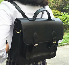 Japanese Casual Uniform Handbag School Shoulder Bag Backpack Briefcase 3 Ways