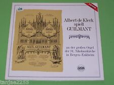 Albert de Klerk spielt Guilmant Orgel der St.Nikolauskirche Bergen Enkheim - LP