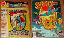 C-61 LIMITED COLLECTORS EDITION SUPERMAN TREASURY F RARE FAMOUS FIRST 1st