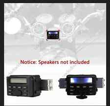 Waterproof Motorcycle Handlebar Mount MP3 iPod iPhone Street Bike ATV FM Radio