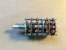 NOS Vintage Centralab 4-Gang 4 Position Rotary Switch SWR94 Ham Radio