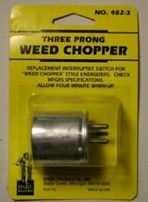 Dare THREE PRONG Electric Fence Fencer WEED CHOPPER - Made in USA