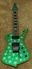 Ibanez Iceman J Signature White Zombie Electric Guitar Galactic Green NUMBER 001