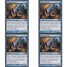 4 x PHANTASMAL BEAR NM mtg M12 Blue - Bear Illusion Com