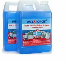 Wet and Forget Moss, Mold Mildew and Algae Stain Remover - .75 Gal - 2 NEW