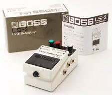 Boss LS-2 Guitar Effect Pedal Line Selector w/Box, Manual LS2 From Japan