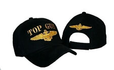 Embroidered Military US Navy Top Gun Baseball Ball Hat Cap