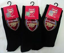 ARSENAL CREST SOCKS 3-PACK OFFICIAL MERCHANDISE SIZE UK MENS 6-11 BNWT