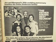 May-1977 Philadelphia Inquirer TV Week (FATHER  KNOWS BEST REUNION/BOBBY VINTON)
