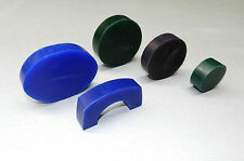 "CARVING WAX ASSORTMENT PRE-CUT BLANKS WAX DESIGN LARGE MODELS 5 PCS - 3/4"" Thick"