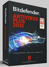 Bitdefender Antivirus Plus 2015 | 1 Year Licence | 1 User