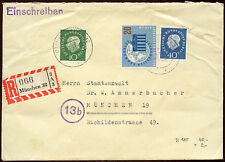 Germany Berlin 1959 Registered Cover #C14545