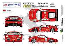 "[FFSMC Productions] Decals 1/32 Ferrari F-430 LMGT2 ""Team RISI"" (LM 2007)"