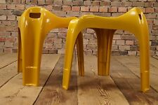 60er Hocker Space Age Stool Vintage 70s Plastic Age Design CASALA Sitzhocker