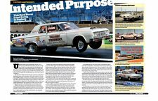 1964 SAVOY MAX WEDGE FACTORY LIGHTWEIGHT 426/425 HP ~ GREAT 4-PAGE ARTICLE / AD