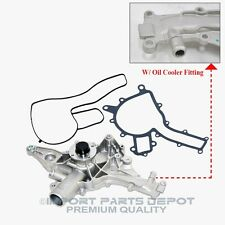 Mercedes-Benz Water Pump (W/ Oil Cooler Fitting) Premium HD Quality 1121401